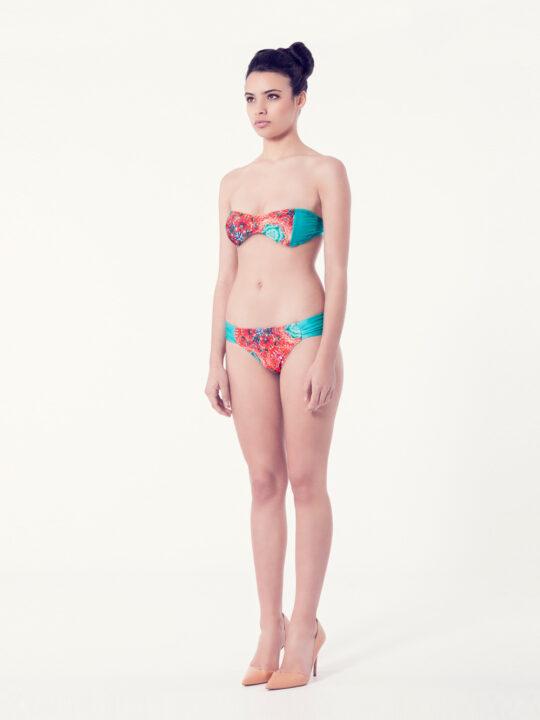 ACHILLEA Bikini tendencia – Vista normal– Estampado rojo – nadadora.com.es – swimwear