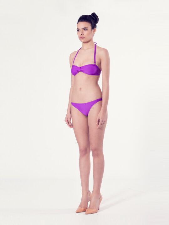 PERSICARIA Bikini básico – Vista normal – Liso malva – nadadora.com.es – swimwear
