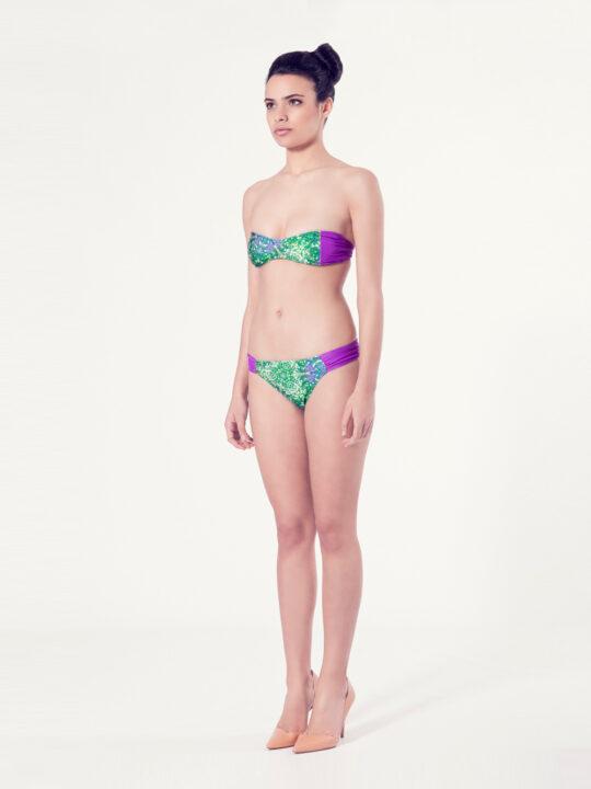 ACHILLEA Bikini tendencia – Vista normal – Estampado verde – nadadora.com.es – swimwear