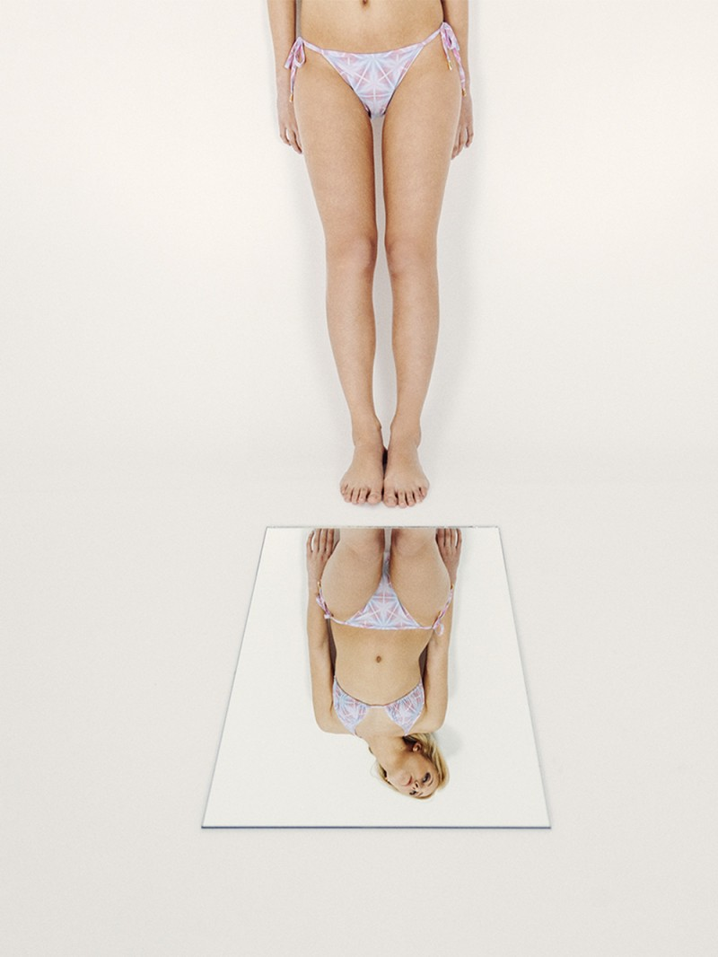 CAMILA Bikini básico – Especial – Estampado AZUL/ROSA – nadadora.com.es – swimwear